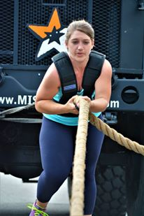Strongman Competition Truck Pull