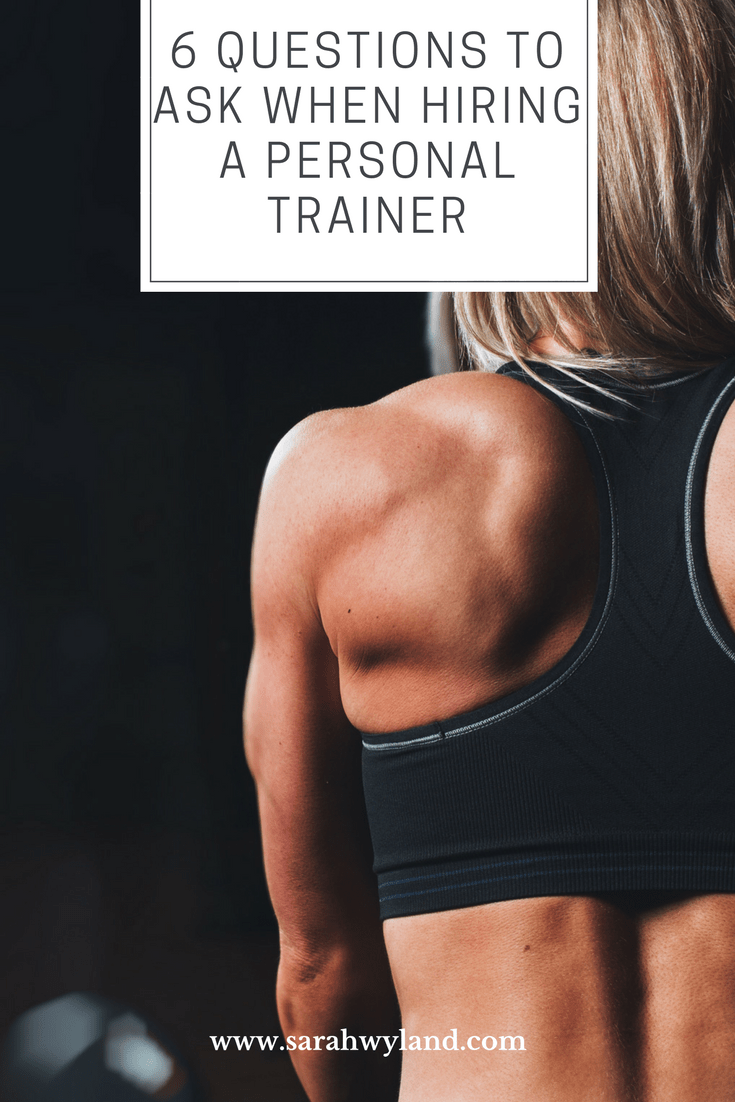 Questions To Ask When Hiring A Personal Trainer