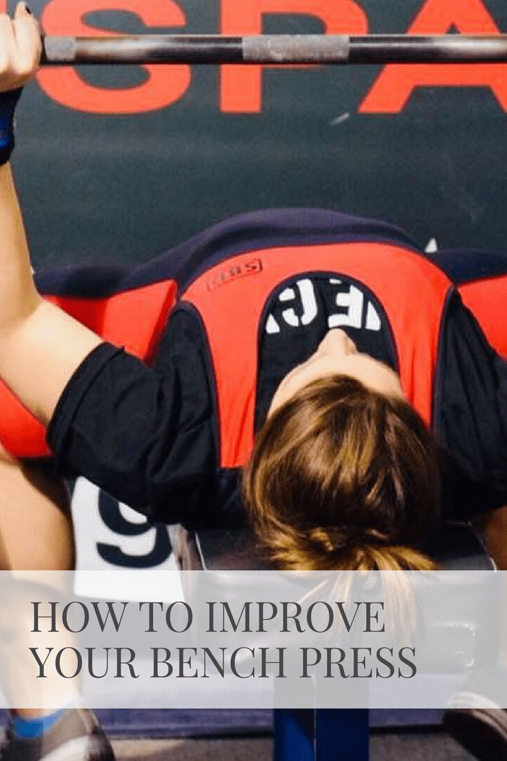 How To Improve Your Bench Press | Sarah Wyland